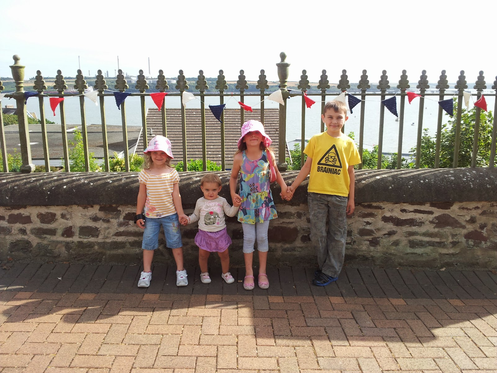Yarn Bombing Pembrokeshire