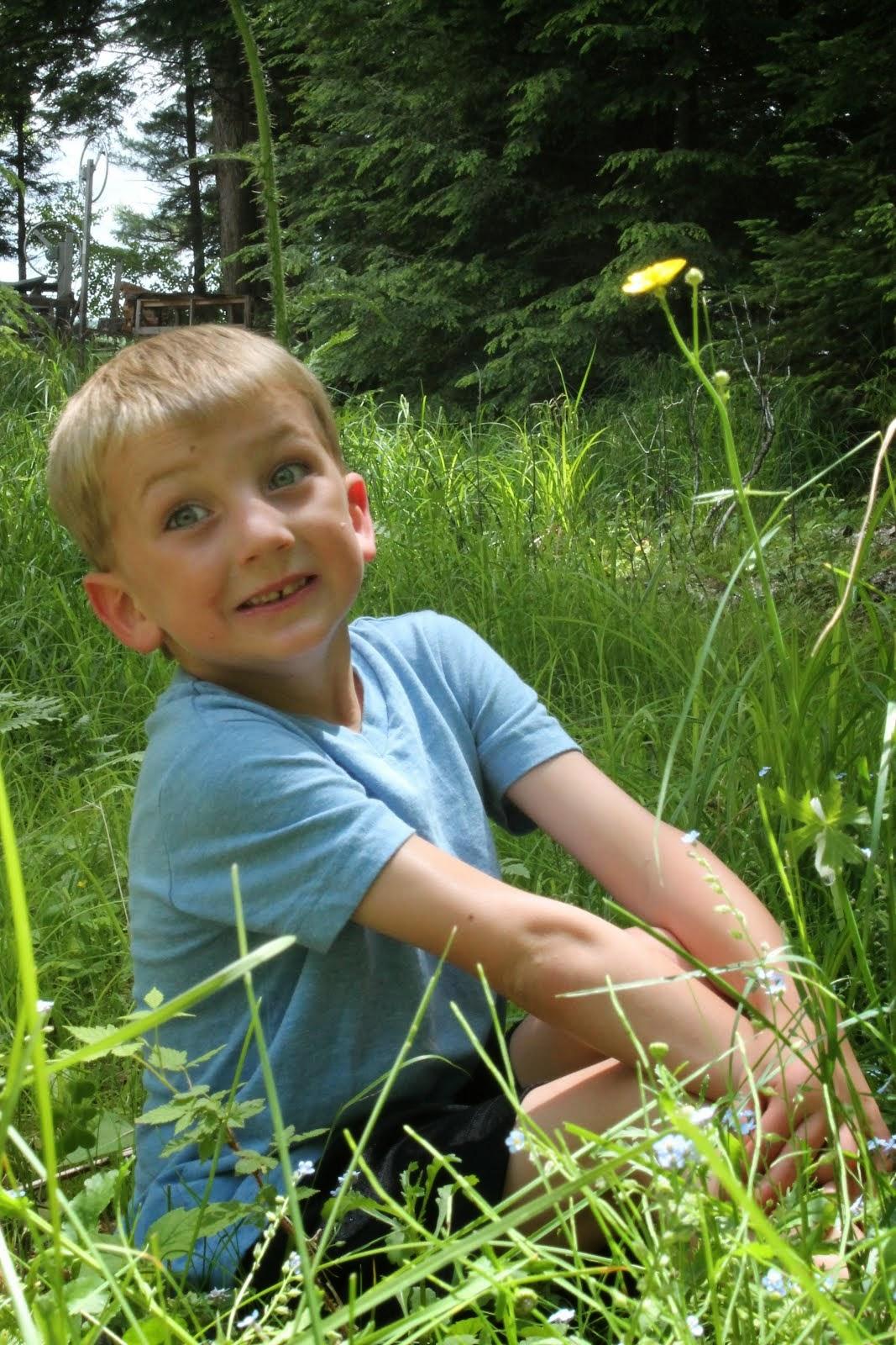 Finn 6 years old
