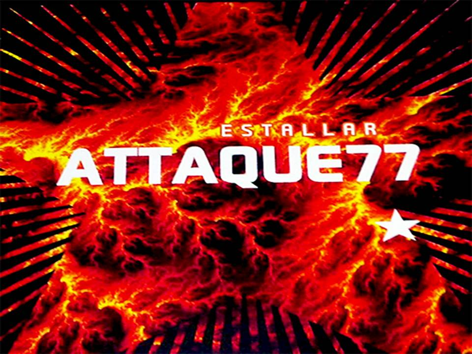 Estallar Álbum De Attaque 77