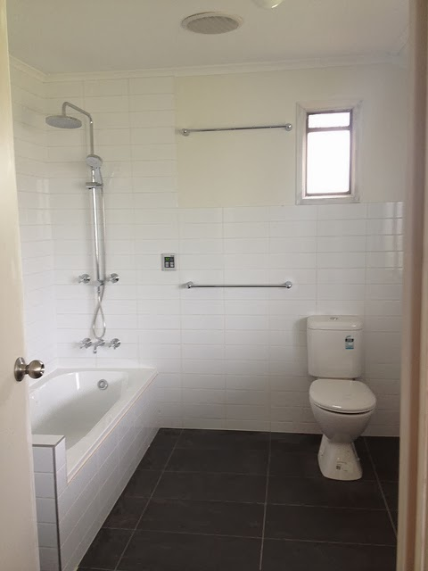 The old post office bathroom renovation inspiration for Bathroom renovation inspiration
