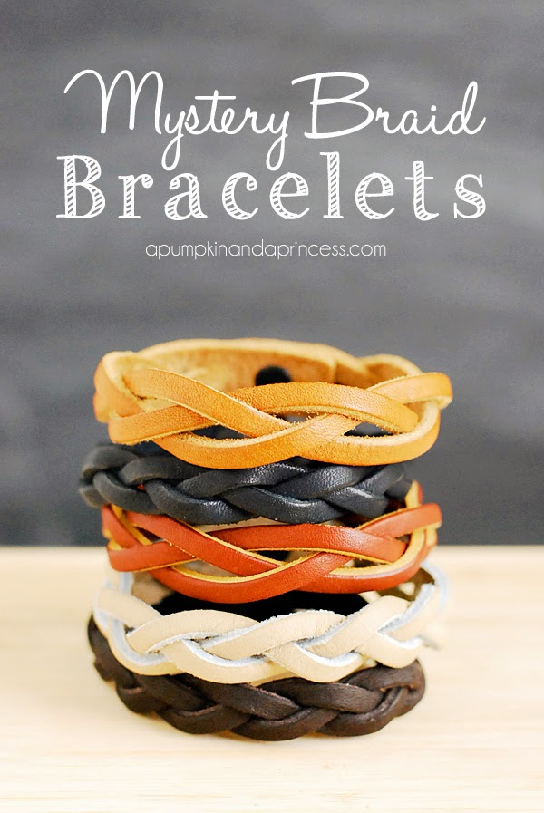 DIY: Make Mystery Braid Bracelet