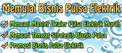 Bisnis Distributor Pulsa