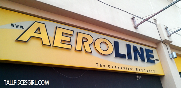 Aeroline Queensbay Mall Their tagline: The Convenient Way to Fly