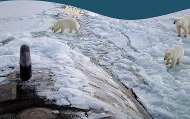 seis países están tratando de apoderarse de partes del Ártico no reclamadas, incluyendo el Polo Nor