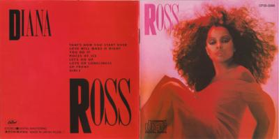 DIANA ROSS - (1983) ROSS