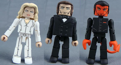 X-Men: First Class Minimates - Emma Frost, Sebastian Shaw &amp; Azazel