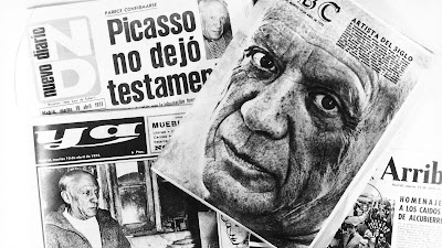 Spaanse pers Picasso