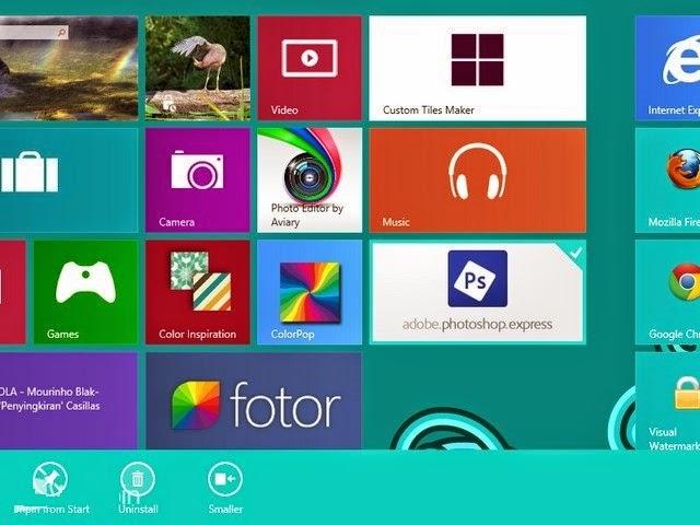 Cara Install dan Uninstall Aplikasi Windows Store di Windows 8