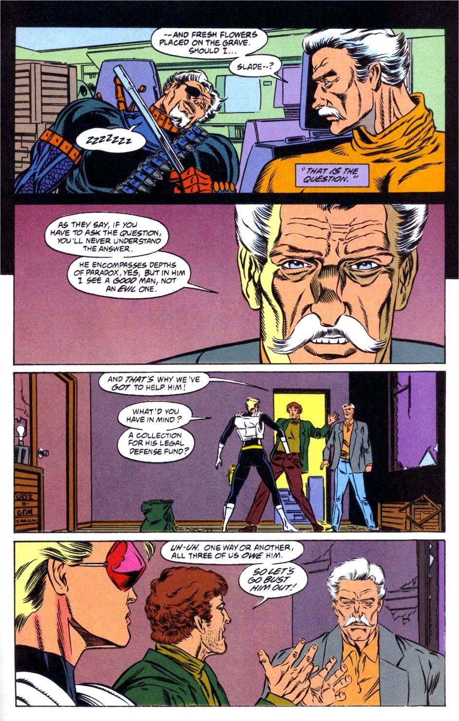 Deathstroke (1991) Issue #12 #17 - English 24