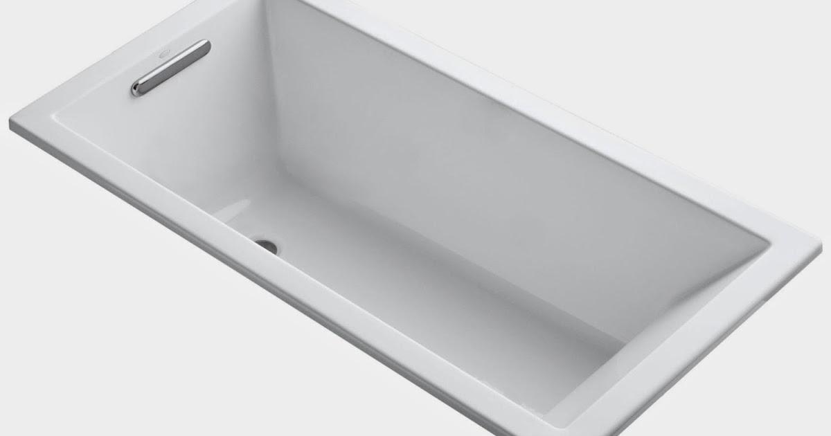 Bathtub Kohler : Top rate soaking bath tub Most Popular ...: Kohler Drop-In Bathtub