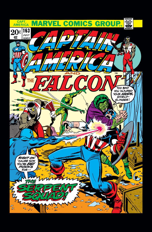 Captain America (1968) Issue #163 #77 - English 1