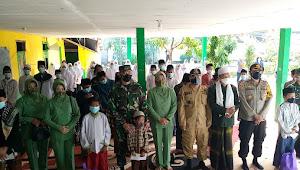 Danrem 061/SK Laksanakan Jum'at Berkah dan Kasih Di Panti Asuhan Dan Pondok Pesantren