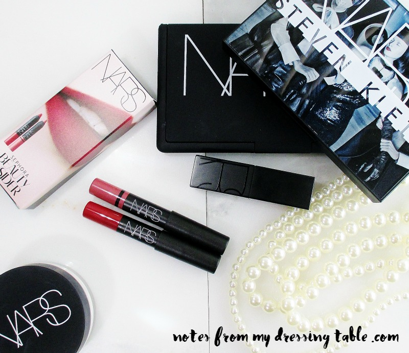 NARS Lip Pencil Sephora Birthday Gift notesfrommydressingtable.com