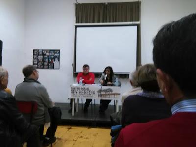 Charla Olga Rodríguez. Jueves 11-II-16