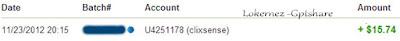 6th clixsense tasks payment