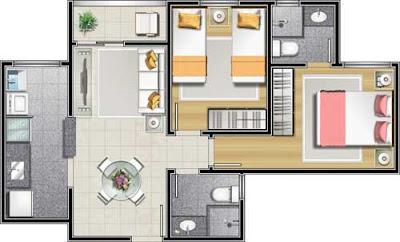 Meu futuro apartamento