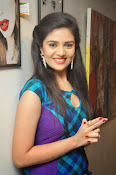 Sri Mukhi latest Photos at Muse Arts Gallery-thumbnail-7