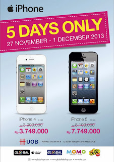 iPhone Cashback di Okeshop Nasional