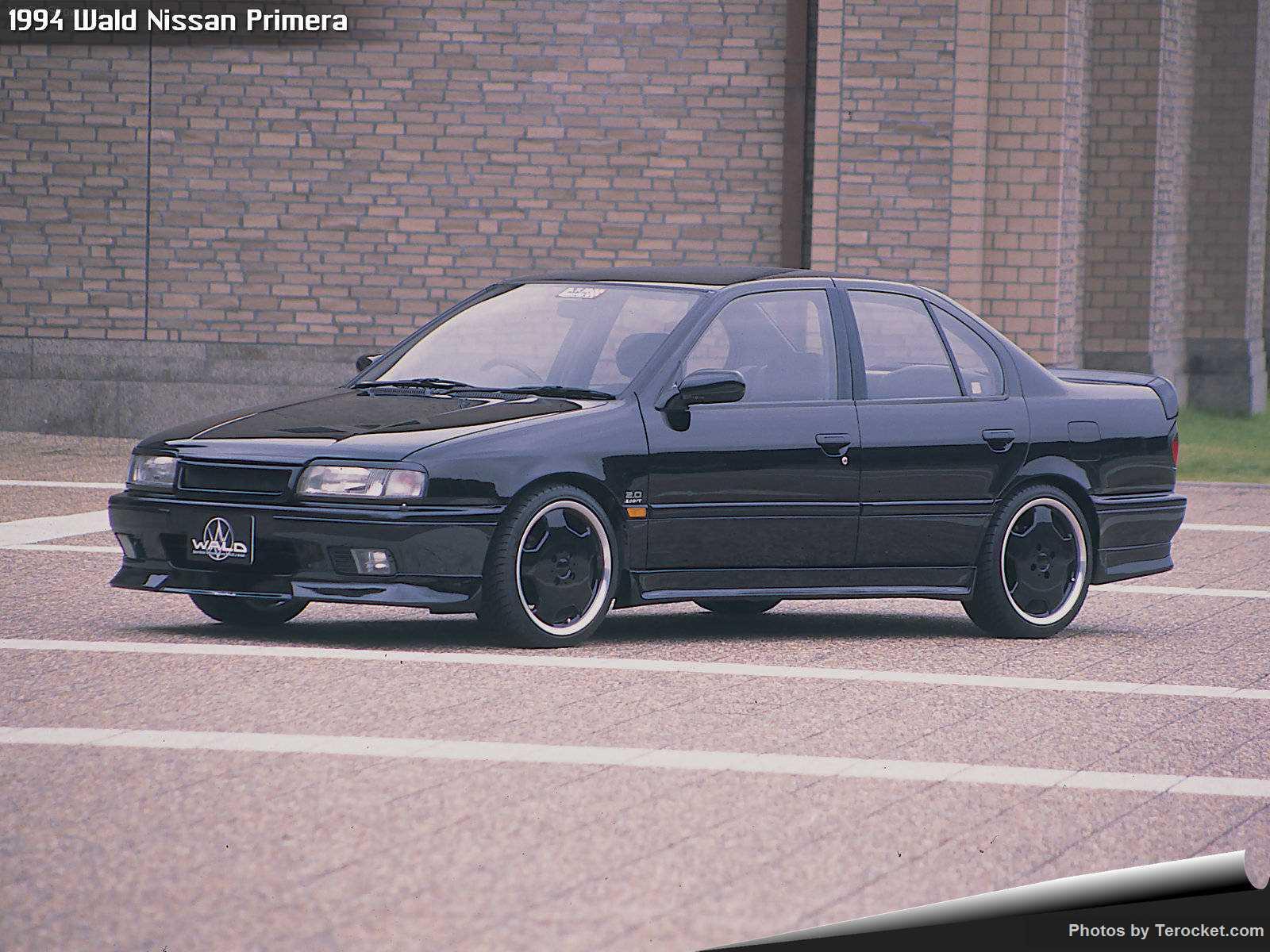 Hình ảnh xe độ Wald Nissan Primera 1994 & nội ngoại thất