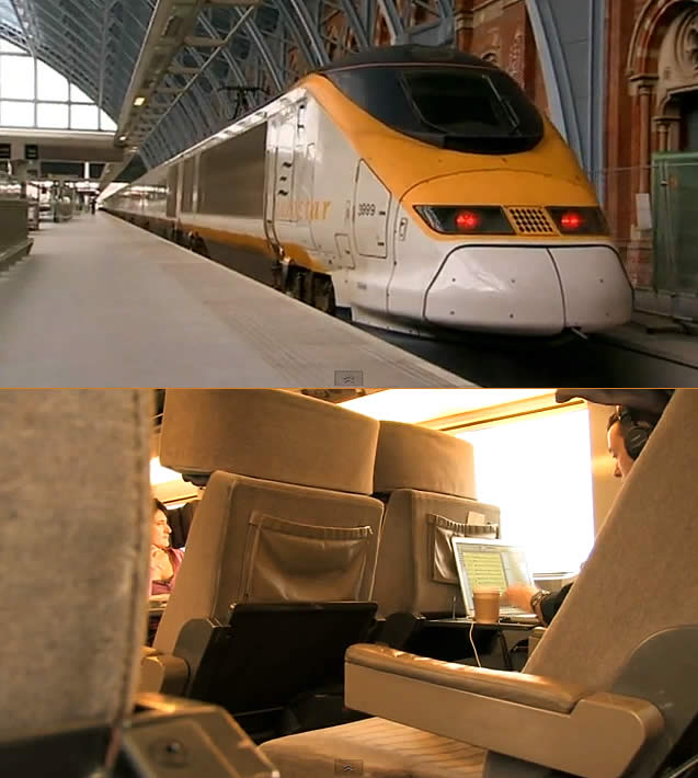 London to Cologne on Eurostar and German ICE Trains