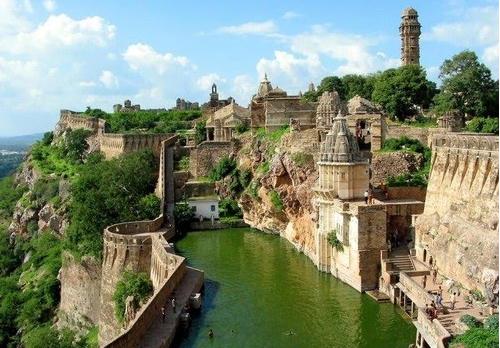 Chittorgarh Forth, India