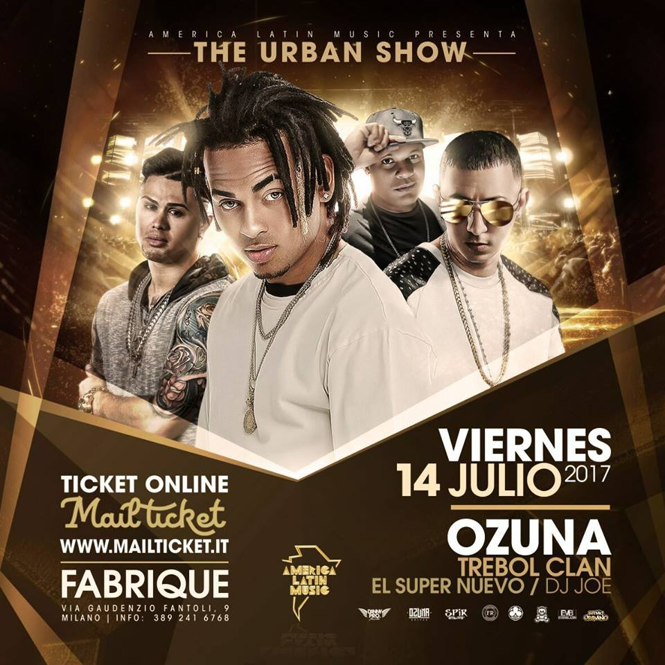 THE URBAN SHOW  14 JULIO - MILANO