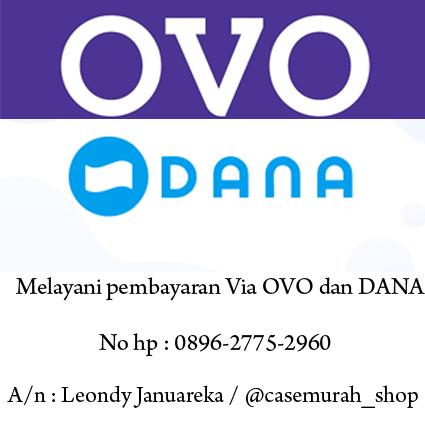 Pembayaran Via OVO dan DANA