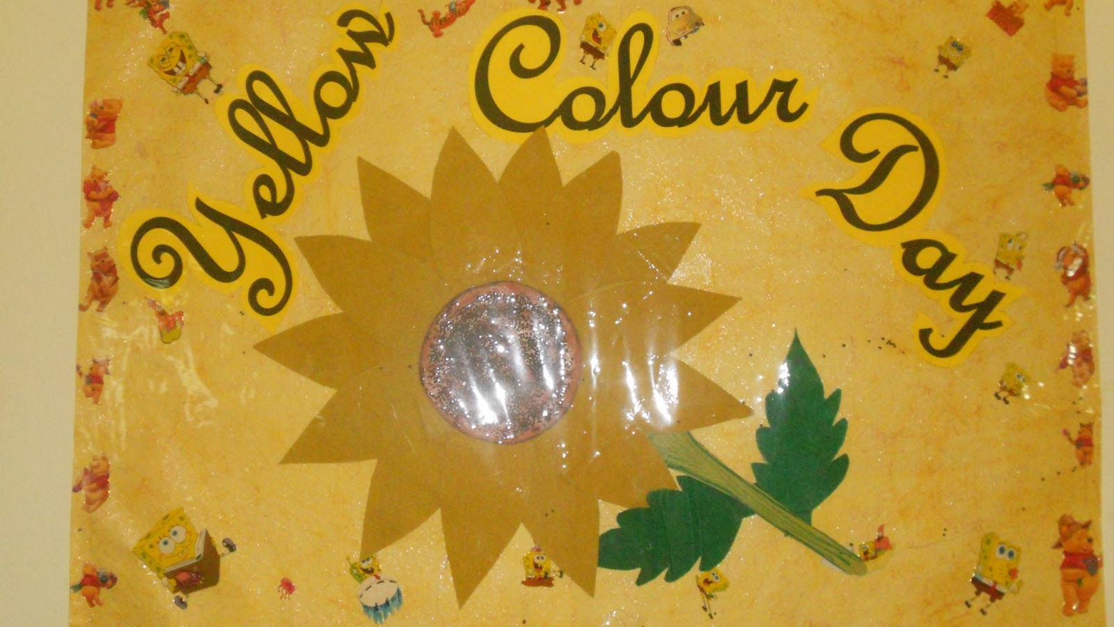 slate - the school  karmanghat  yellow colour day
