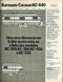 propaganda Trailer Karmann Ghia - 1978. brazilian advertising cars in the 70s; os anos 70; história da década de 70; Brazil in the 70s; propaganda carros anos 70; Oswaldo Hernandez;