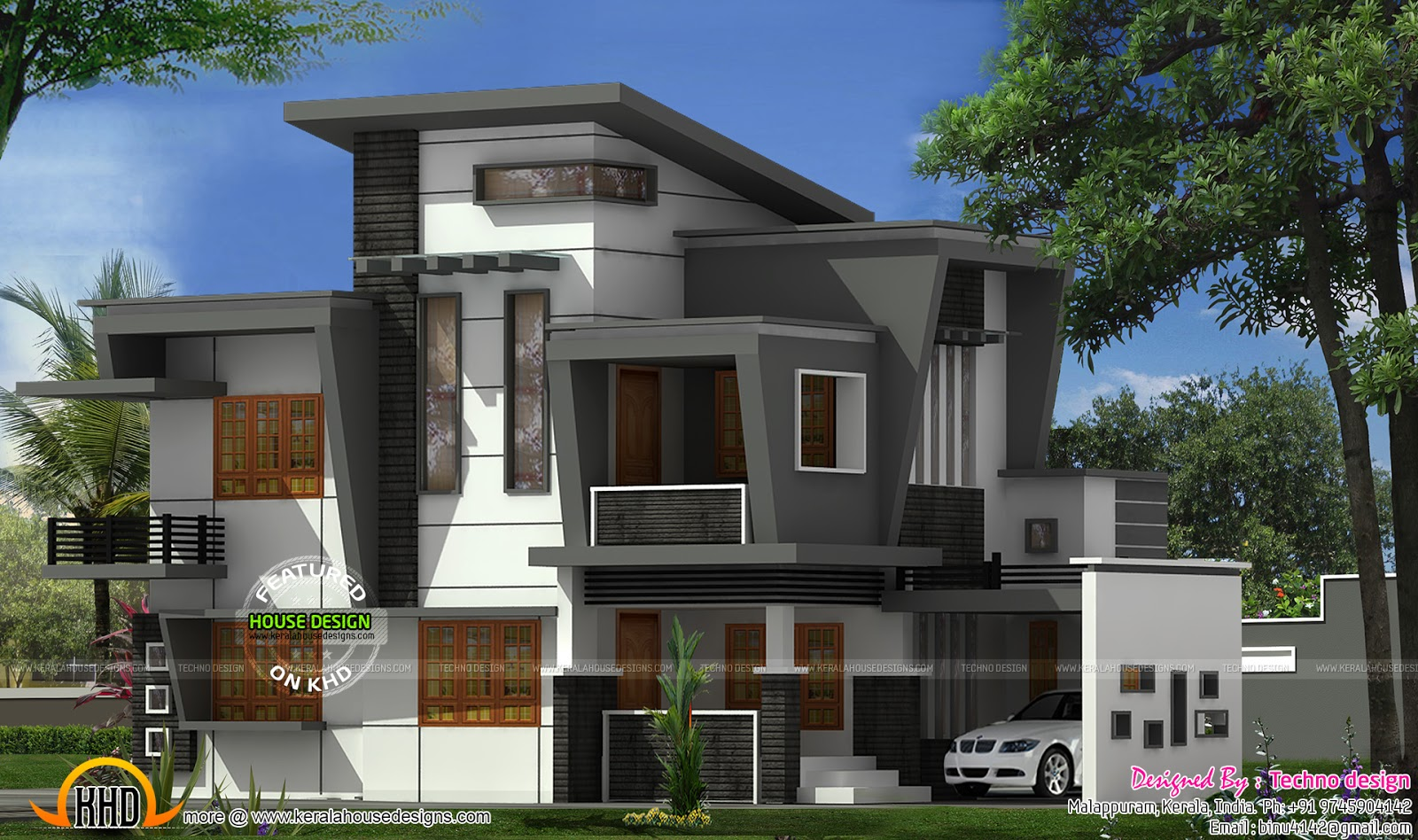 June 2015 kerala home design and floor plans for New contemporary houses