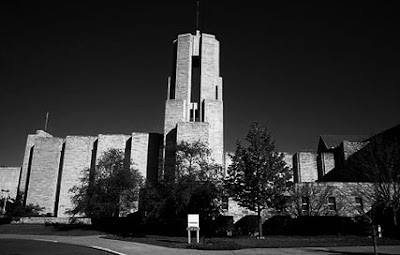 Benedictine College, haunted by the monks who founded the school.