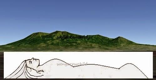 lokasi melihat gunung putri tidur malang