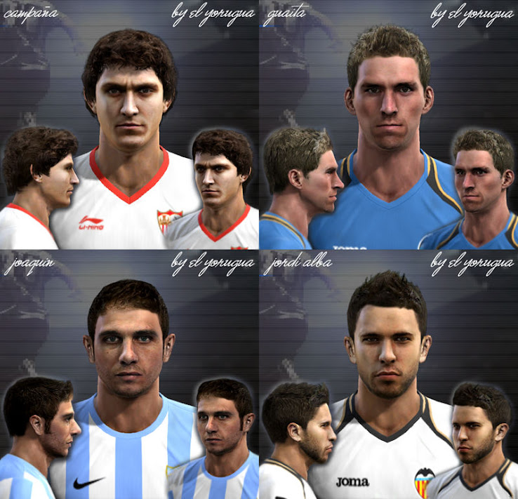 PES 2012 Liga BBVA Facepack by el yorugua
