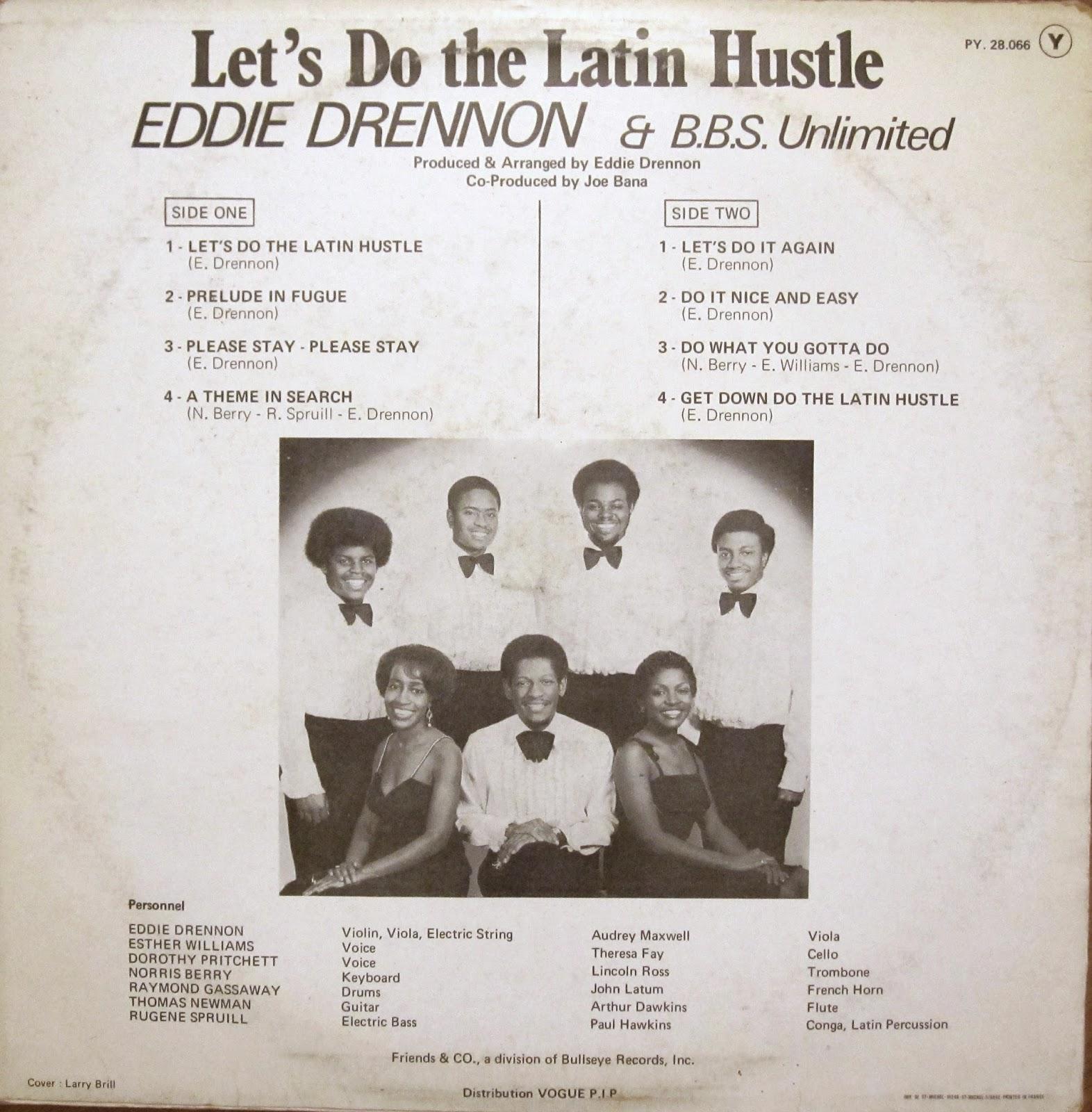Eddie Drennon & The B.B.S. Unlimited* Eddie Drennon & B.B.S. Unlimited - Do It Nice And Easy