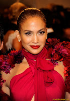 Jennifer Lopez Alexander McQueen Savage Beauty Costume Institute Gala