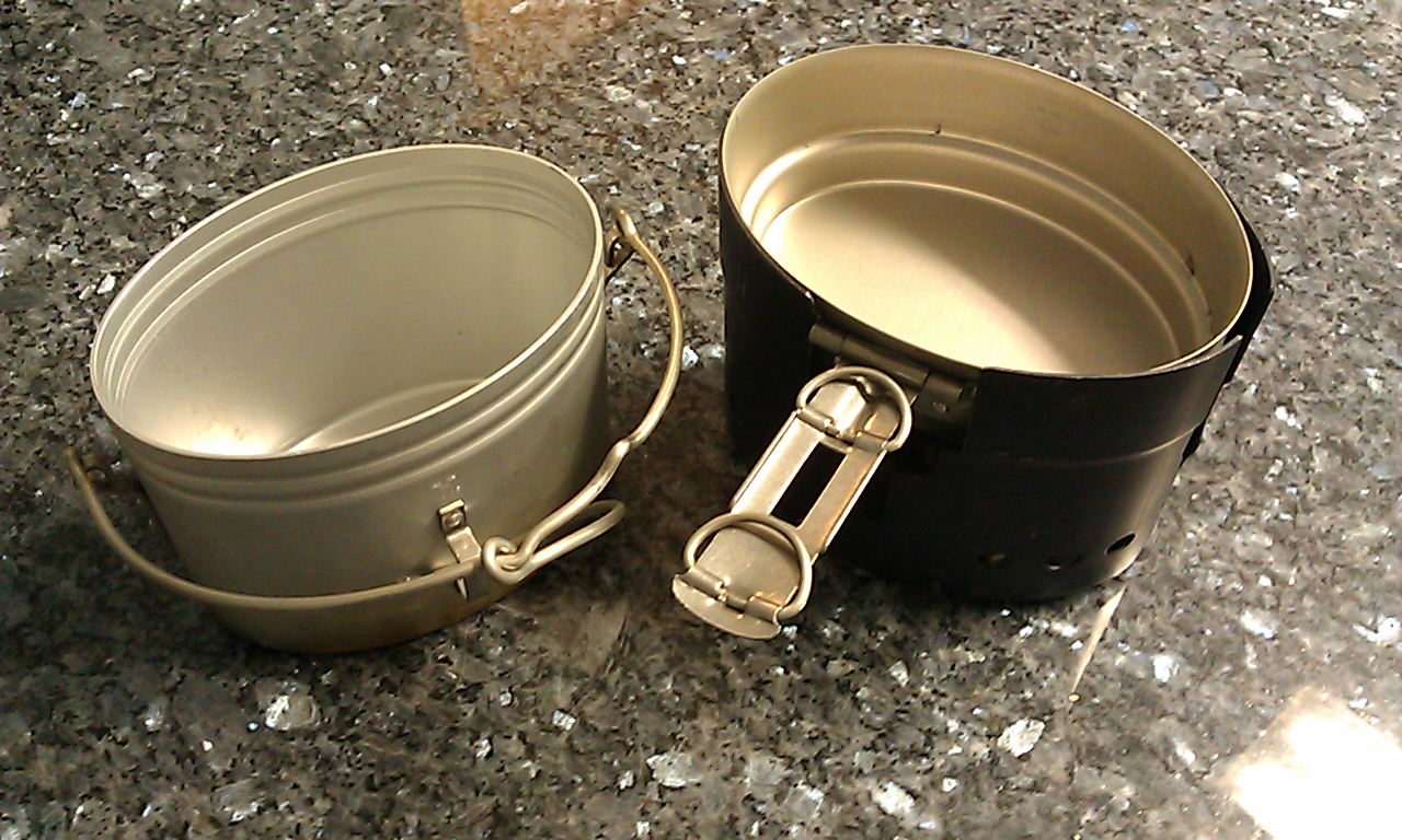 how to cook with a mess kit