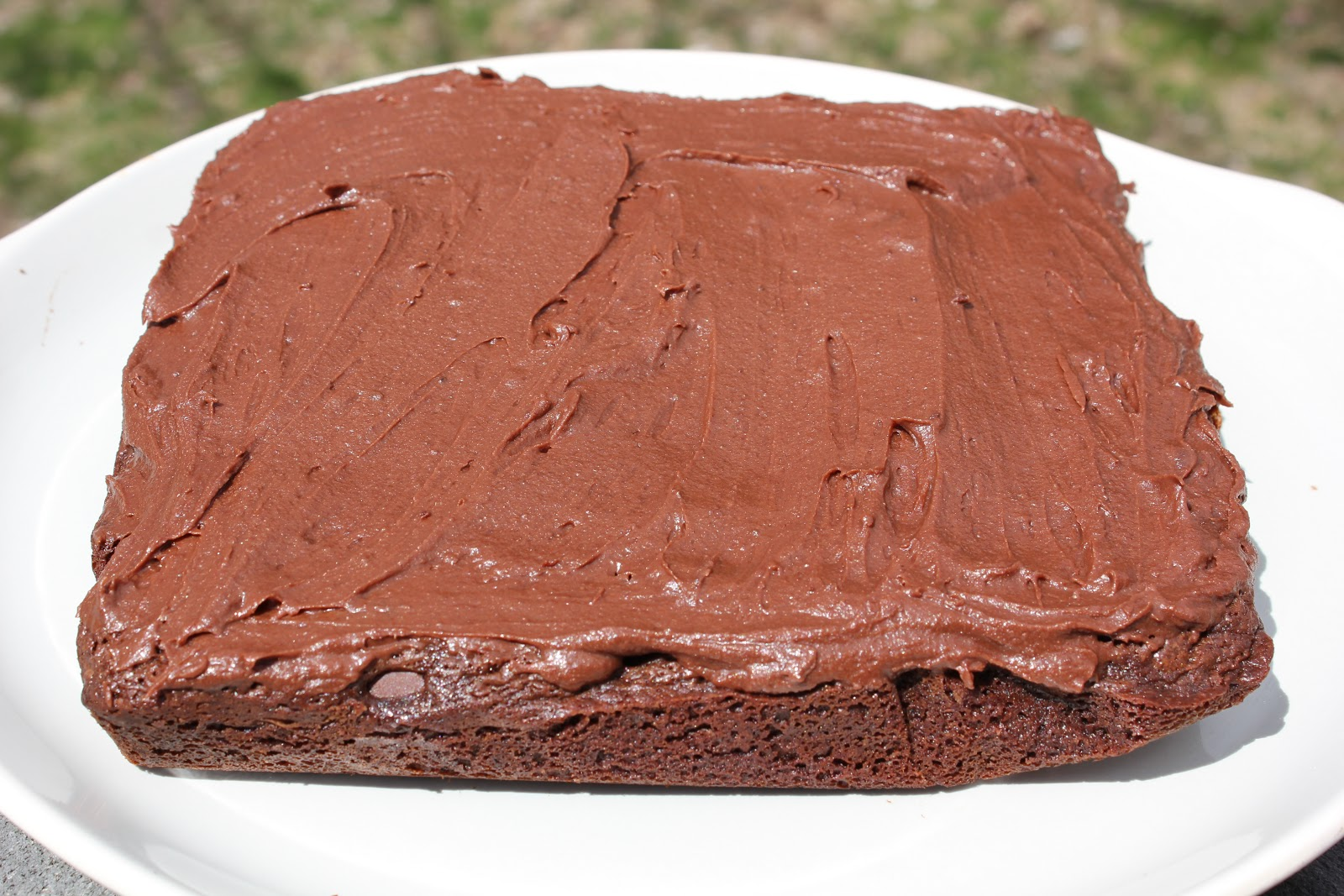 THE BUSY MOM CAFE: Chocolate Fudge Brownies with Chocolate ...