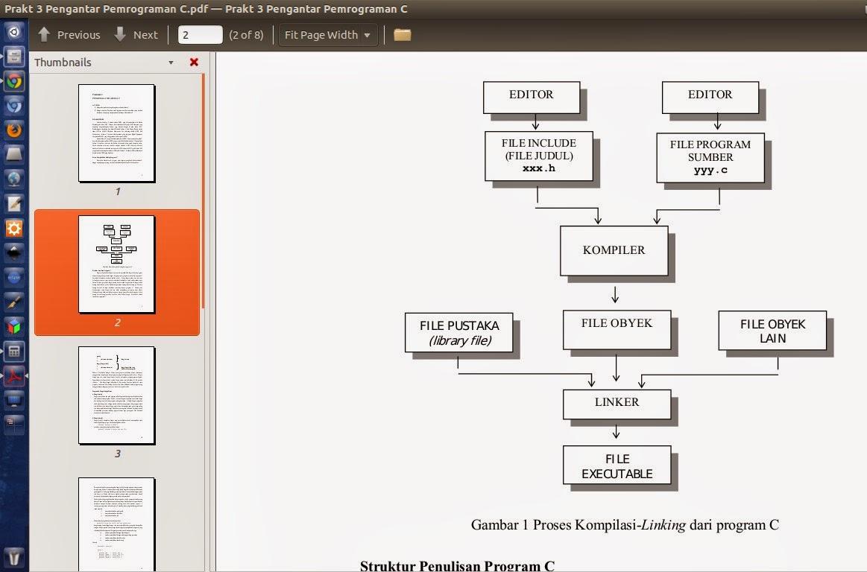 Ebook Pemrograman Bahasa C di Linux Bahasa Indonesia