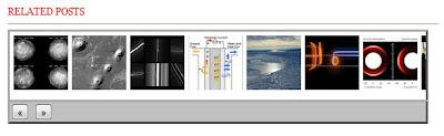 Related posts slideshow widget