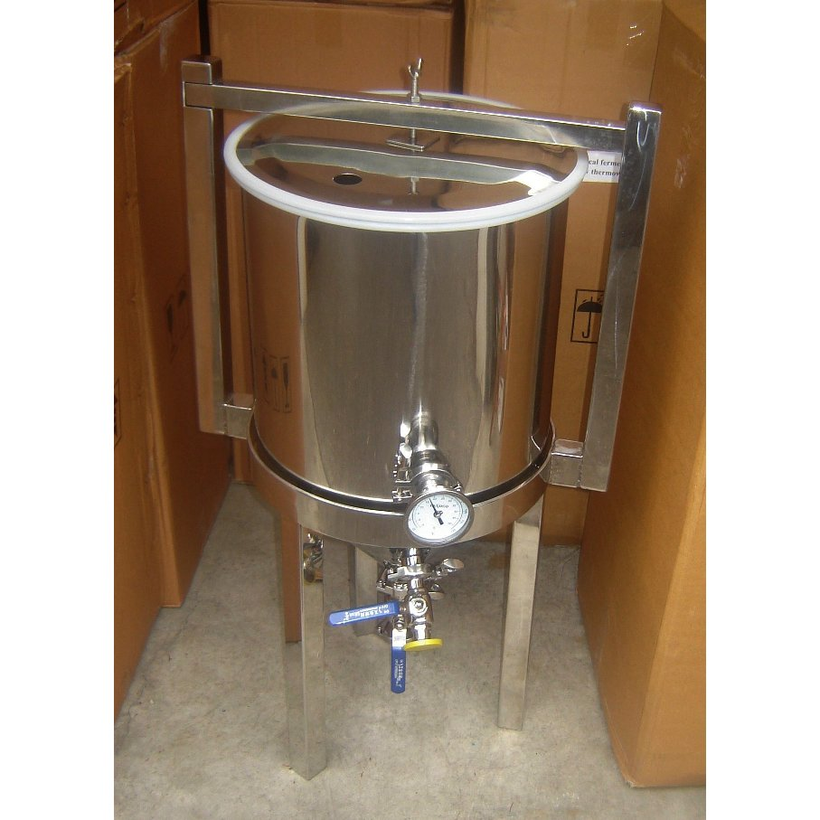 This Fermenter Also Has A Thermometer Mounted On It If Your Using Temperature Controller Then You Ll Already Be Monitoring The Temp With