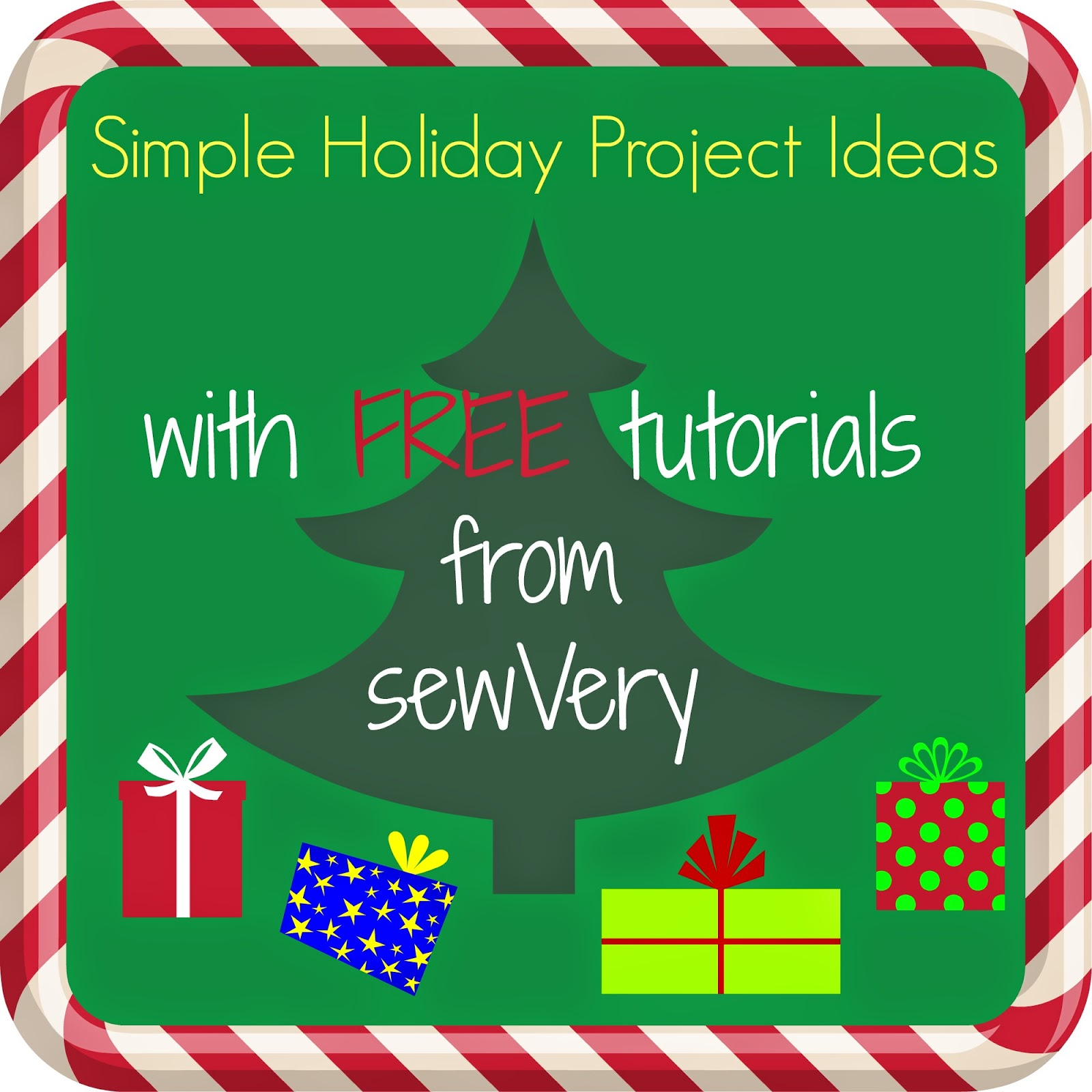 Sewvery sewvery simple holiday project ideas for Holiday project
