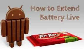 Tips Menghemat Baterai Untuk Android KitKat