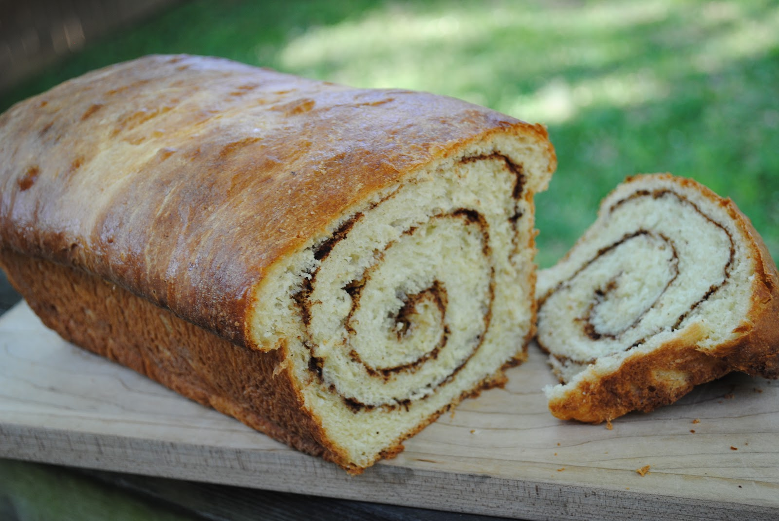 Minnesota Bread: Cinnamon Swirl Bread