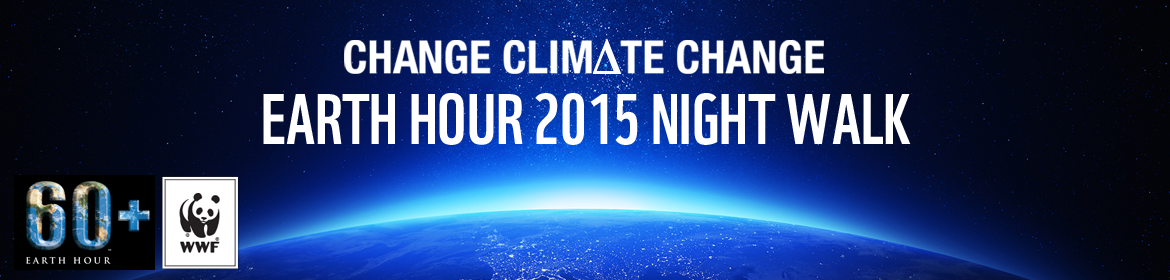 Earth hour 2015 : Change Climate Change