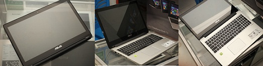 Jual Asus TP550L Transformer Book 2nd