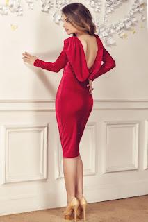 rochie-eleganta-catifea-reducere