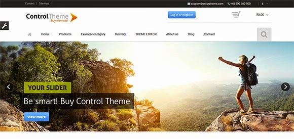 Control – Flexible Responsive PrestaShop Theme