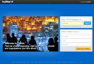 photo of home page of twitter , beautiful wallpaper of twitter homepage.