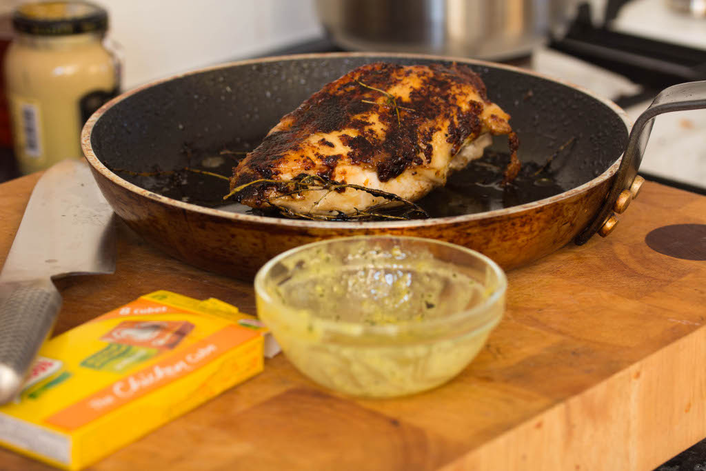 Freestyle Cookery: Recipe - Lemon and Thyme Chicken Breast