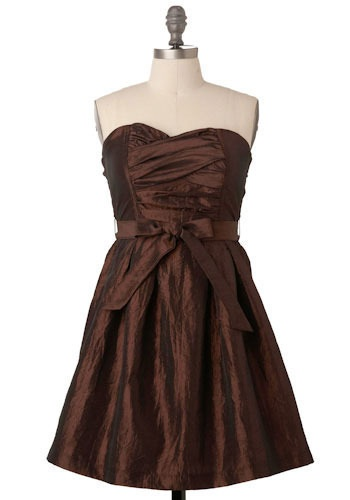 Shades of brown bridesmaid dresses for Brown dresses for wedding